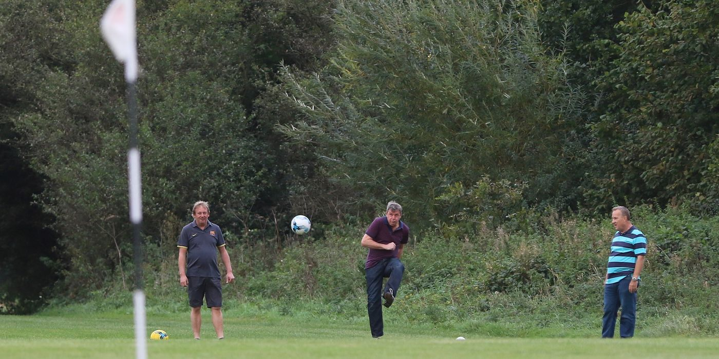 Try something new! Footgolf